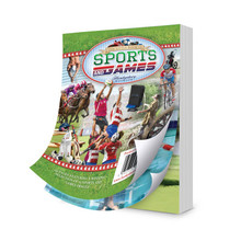Hunkydory Little Book of Sports and Games 144 A6 Pages 24 Scenes LBK140