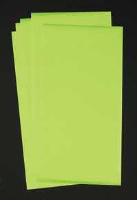 Deco Foil Lime  for Paper & Fabric  - 5 Transfer Sheets - by Thermoweb