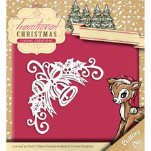 Yvonne Creations Traditional Christmas - Bell Corner Die