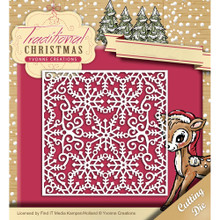 Yvonne Creations Traditional Christmas - Snowflake Frame Die