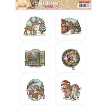 Yvonne Creations Traditional Christmas - Toppers SB10105