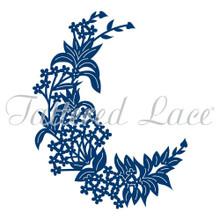 Tattered Lace Floral Crescent Dies D497