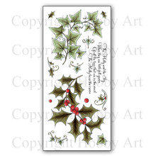 Hobby Art The Holly & The Ivy Clear Stamps CS137D
