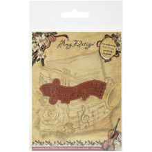 Amy Design Vintage Christmas Die Musical Staff