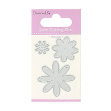 Dovecraft Steel Cutting Dies - Flowers - DCDIE015