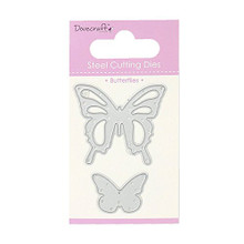 Dovecraft Steel Cutting Dies - Butterflies - DCDIE007