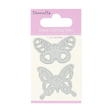 Dovecraft Steel Cutting Dies - Butterfly Duo - DCDIE037