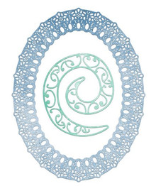 Cheery Lynn Design KIWI OVAL FRAME Cutting Die DL123