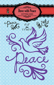 HOTP Dove of Peace Cutting Dies HOTP5352