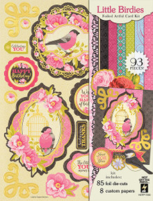 Hot Off The Press Little Birdie Artful Card Kit 7290