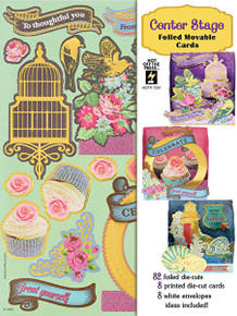 Artful Card Kit - Center Stage Card Kit 7291