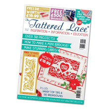 The Tattered Lace Magazine - Issue 31 -  Delicate Gate Die