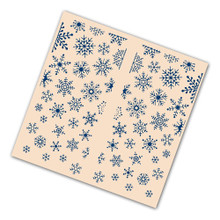 Tattered Lace Gatefold Embossing Folder - Christmas Snowflake