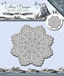 Amy Design Wintertide - Ice Crystal - 2-pc Metal Die Set ADD10081
