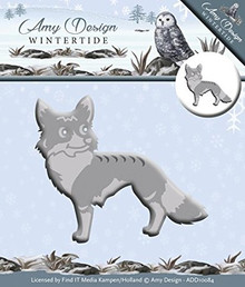 Amy Design Wintertide - Fox - Metal Die ADD10084