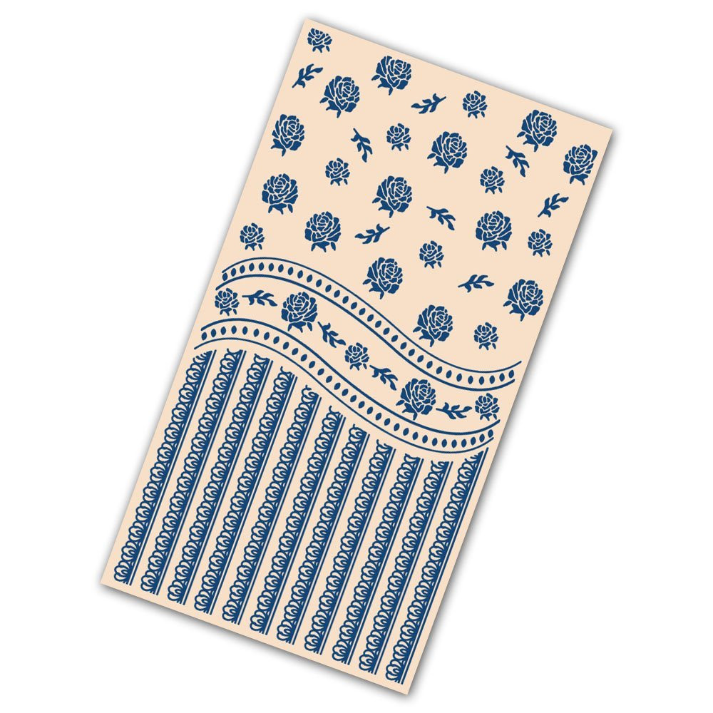 Tattered Lace Embossing Folder Victorian Swirl EF160