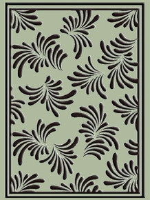 Crafts-Too Crafts-Too Embossing Folder, Petals