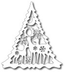 Tutti Designs Thin Metal Die - Deer Family Tree - Tutti-127