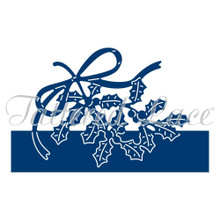 Tattered Lace Christmas Holly Over the Edge Cutting Die ETL303
