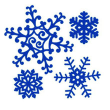 Tattered Lace RETIRED Snowflakes Die Set D109