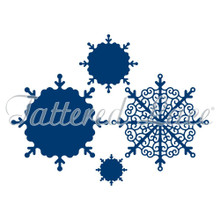 Tattered Lace Decorative Detail Snowflakes Die ETL338