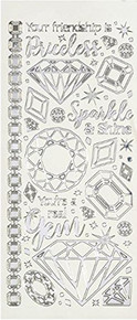 Dazzles Gems & Jewels Stickers HOTP2579