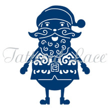 Tattered Lace Jolly Santa D949 by Stephanie Weightman