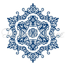 Tattered Lace Doily Snowflake Cutting Die D0875