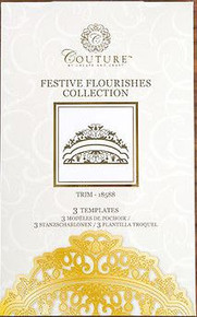 Create and Craft Couture Die Collection in Festive Flourishes Trim 18588