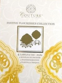Create and Craft Couture Die Collection in Festive Flourishes Labels & Tags 1...