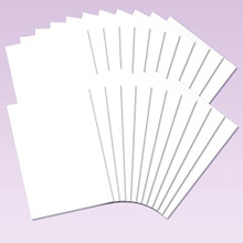 Hunkydory Ink Me! Professional 300gsm Stamping Card - 20 SHEET Pack
