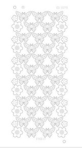 Find It Trading Flowers & Butterflies Mirror Gold CD3078G