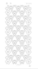 Find It Trading Flowers & Butterflies Mirror Silver CD3078Z