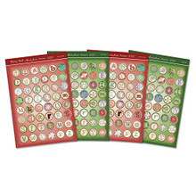 Hunkydory Crafts Essentials Love Alphabets Fesrive Alphabet Coins ESS30