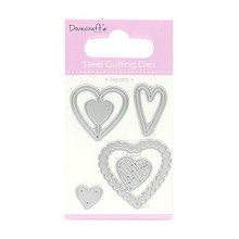 Dovecraft Hearts Cutting Dies DCDIE069