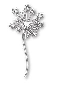 Poppystamps 100% Steel Die Dandelion Stem 1809