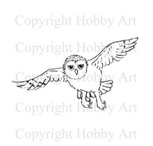 Hobby Art Foam Mounted Owl Flight LT940E