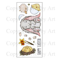 Hobby Art Clear Stamps Spring Has Sprung CS121D