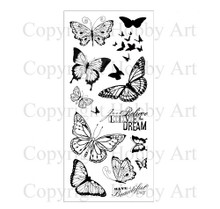 Hobby Art Clear Stamps Butterflies CS077D