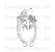 Hobby Art Foam Mounted Pick of the Bunch Hedgehog LT1508MD