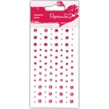 DoCrafts Papermania 104pc Pink Adhesive Gems PMA351406
