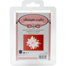 Ultimate Crafts Die-Poinsettia Layer, 2.4'X2.6'