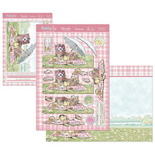 Hunkydory Crafts Shabby Chic Perfect Picnic Card Kit shabchic902