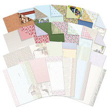 Hunkydory Shabby Chic & Rustic Charm Luxury Inserts & Background Papers for Cards