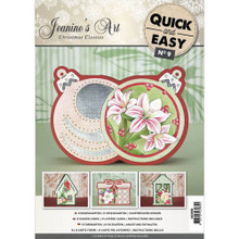 Jeanine's Art Christmas Classics Quick & Easy No9 Card Kit -- Bases for 8 Cards