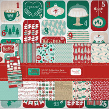 Hazel & Ruby Very Merry Christmas 12x12 Paper & Sticker Kit VM324