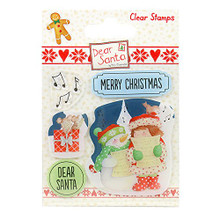 Dear Santa Stamps-Carol Singing