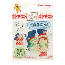 Dear Santa Stamps-Carol Singing