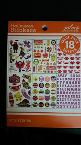 Jolee's Boutique Halloween Stickers Value Pack 18 Sheets Stickers