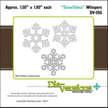 Die-Versions Snowflakes Cutting Dies DV-656